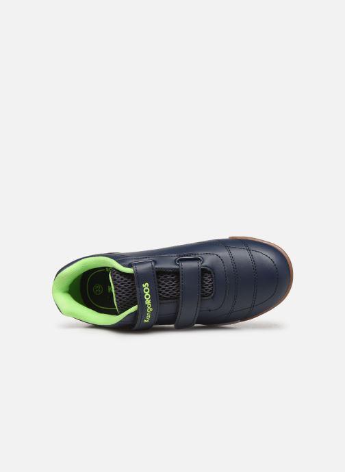 Chaussures de sport Kangaroos Courtyard V Bleu vue gauche