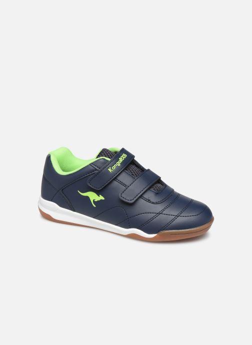 Chaussures de sport Kangaroos Courtyard V Bleu vue détail/paire