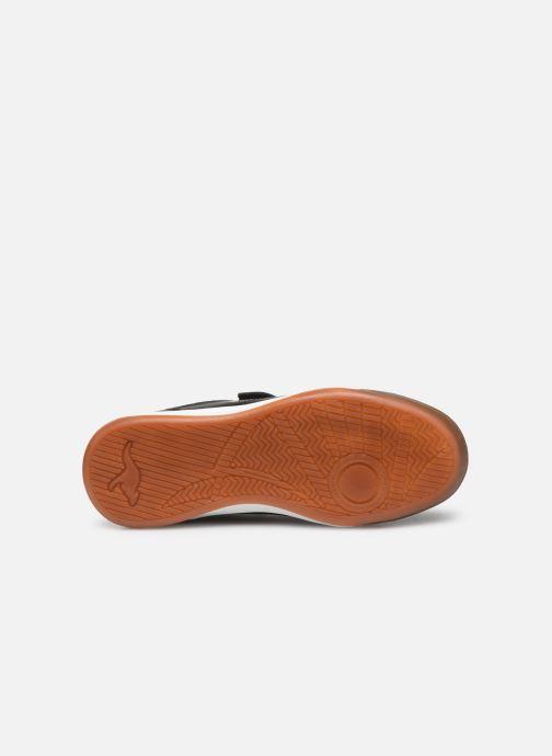 Chaussures de sport Kangaroos Courtyard V Noir vue haut