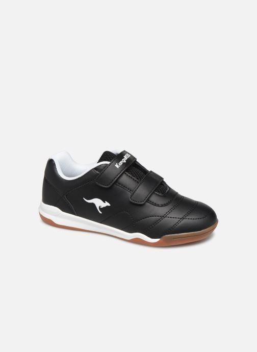 Chaussures de sport Kangaroos Courtyard V Noir vue détail/paire