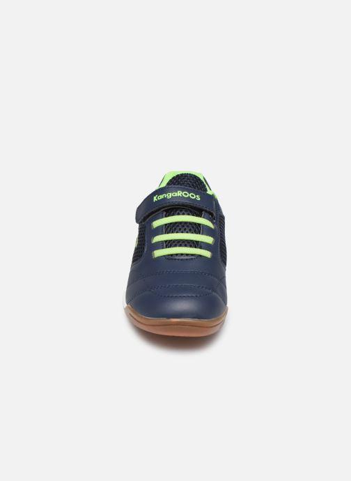 Chaussures de sport Kangaroos Incourt EV Bleu vue portées chaussures