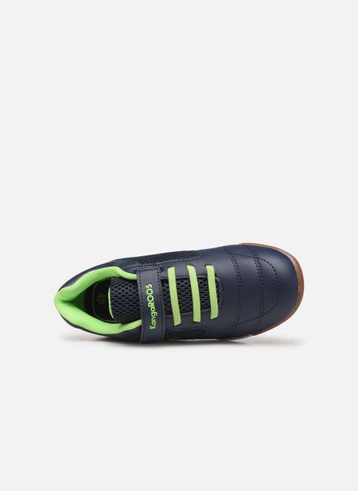 Chaussures de sport Kangaroos Incourt EV Bleu vue gauche