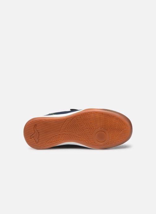 Chaussures de sport Kangaroos Incourt EV Bleu vue haut