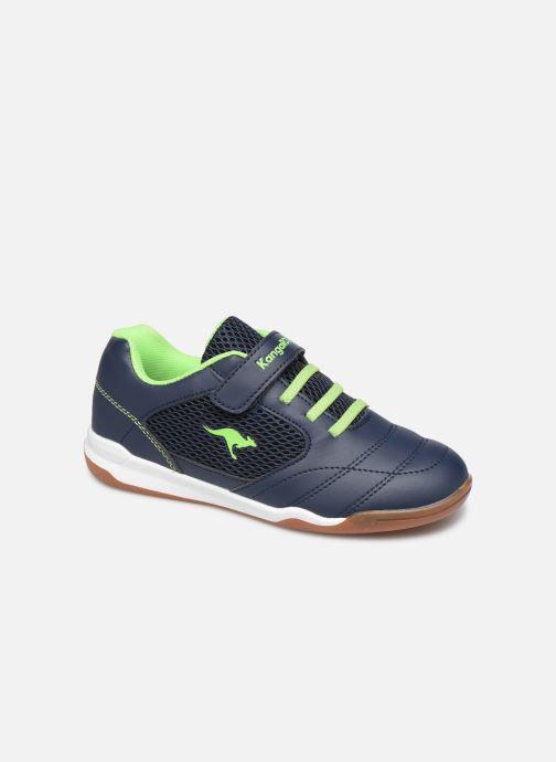 Sportssko Kangaroos Incourt EV Blå detaljeret billede af skoene