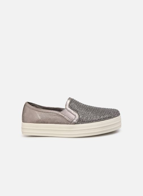 Trainers Skechers Double Up Shiny Dancer W Silver back view