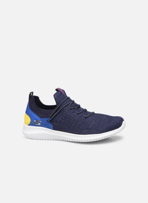 Trainers Skechers Ultra Flex More Tranquility Blue back view