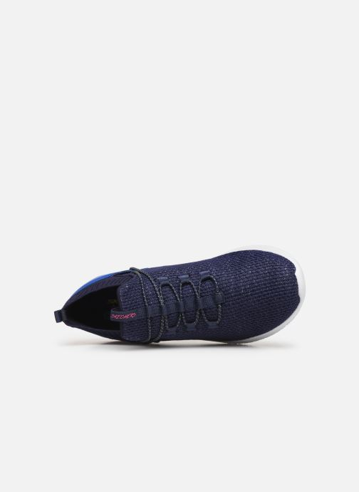 Sneakers Skechers Ultra Flex More Tranquility Azzurro immagine sinistra
