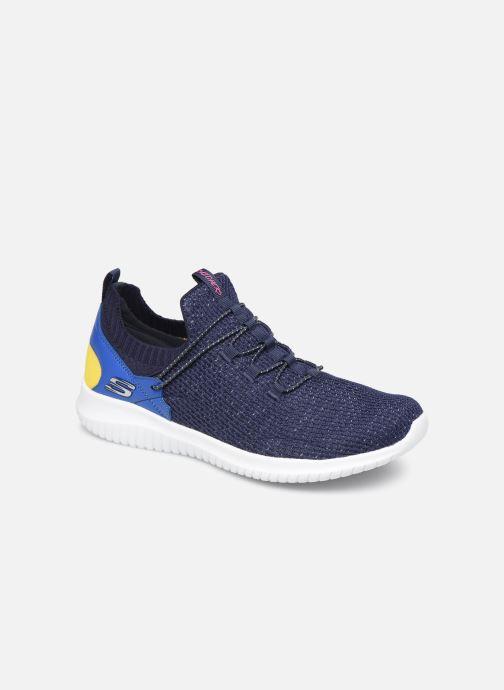 Sneakers Skechers Ultra Flex More Tranquility Azzurro vedi dettaglio/paio