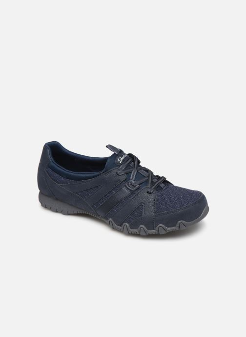 Trainers Skechers Bikers Mc Day Breakers Blue detailed view/ Pair view