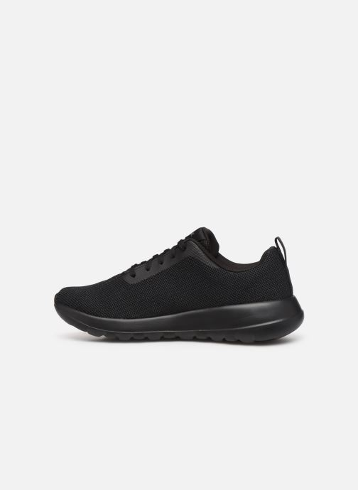 Trainers Skechers Go Walk Max Precision Black front view