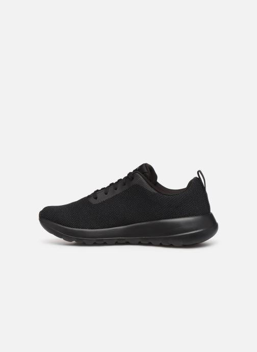 Sneaker Skechers Go Walk Max Precision schwarz ansicht von vorne