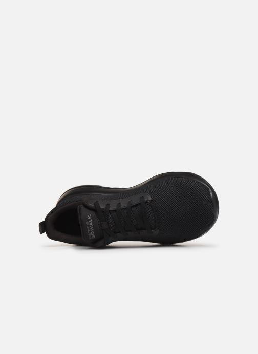 Sneaker Skechers Go Walk Max Precision schwarz ansicht von links
