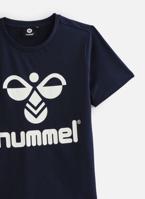 Vêtements Hummel Hmltres T-Shirt Bleu vue portées chaussures