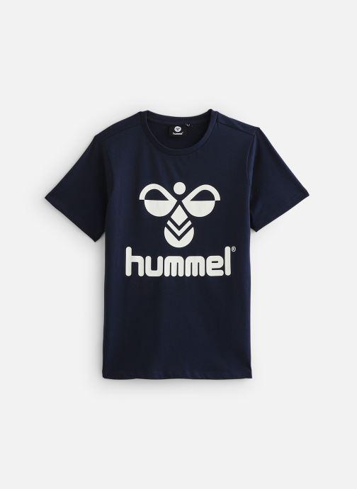 Vêtements Hummel Hmltres T-Shirt Bleu vue détail/paire