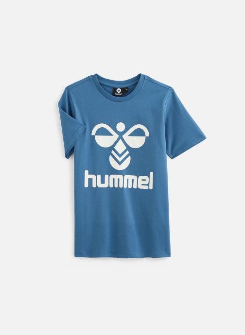 Kleding Hummel Hmltres T-Shirt Blauw detail