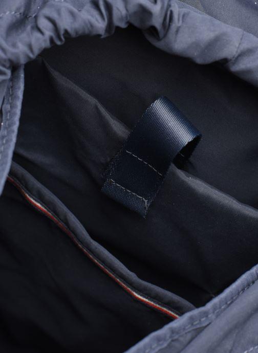 Rucksacks Tommy Hilfiger COATED CANVAS BACKPACK Black back view