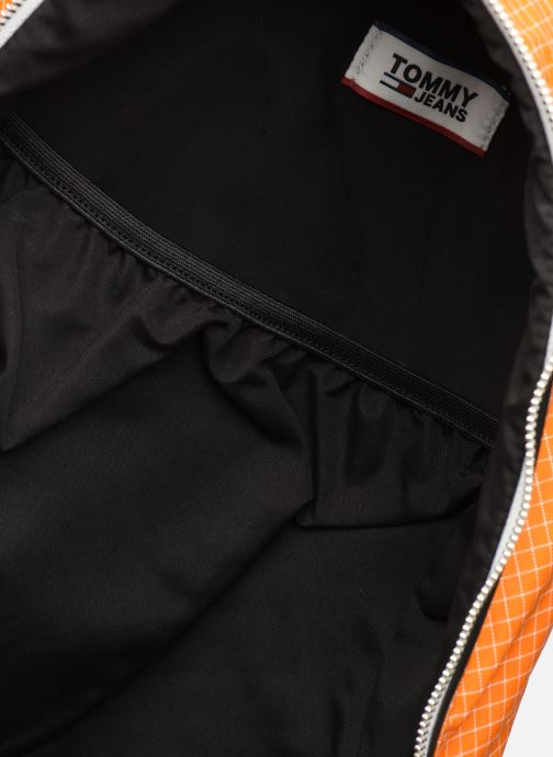 Zaini Tommy Hilfiger TJM LOGO TAPE RIPSTOP BACKPACK Arancione immagine posteriore
