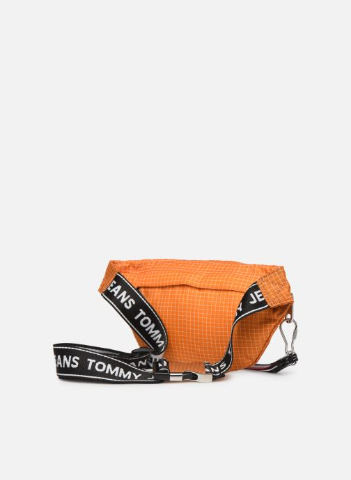 Wallets & cases Tommy Hilfiger TJM LOGO TAPE RIPSTOP BUMBAG Orange view from the right