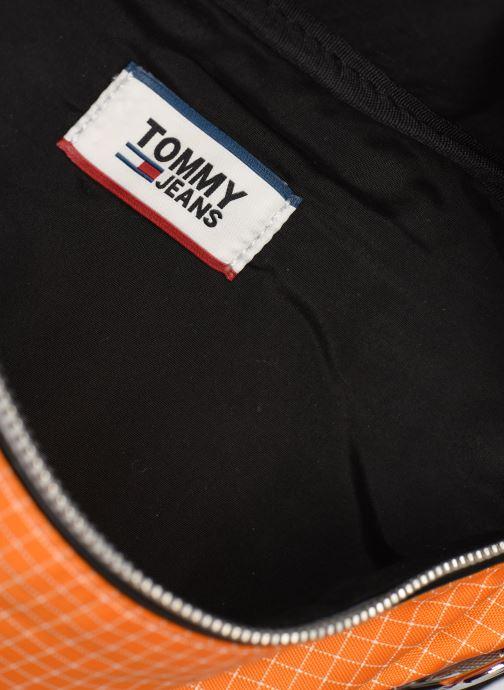 Punge og etuier Tommy Hilfiger TJM LOGO TAPE RIPSTOP BUMBAG Orange se bagfra