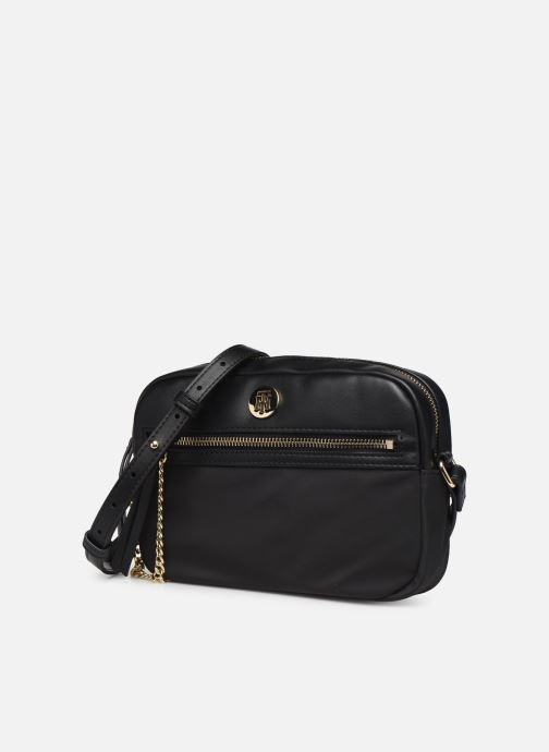 Handbags Tommy Hilfiger CORE NYLON CROSSOVER Black model view