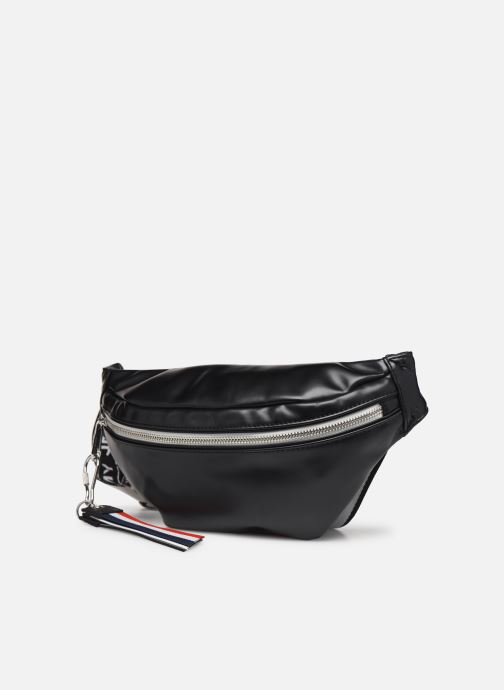 Portemonnaies & Clutches Tommy Hilfiger TJW LOGO TAPE PU BUMBAG schwarz schuhe getragen