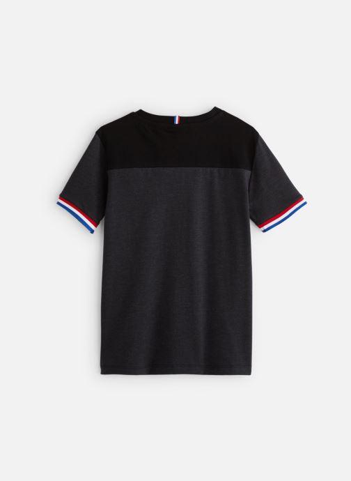 Vêtements Le Coq Sportif Tri Tee Ss N°2 JUNIOR 192 Noir vue bas / vue portée sac