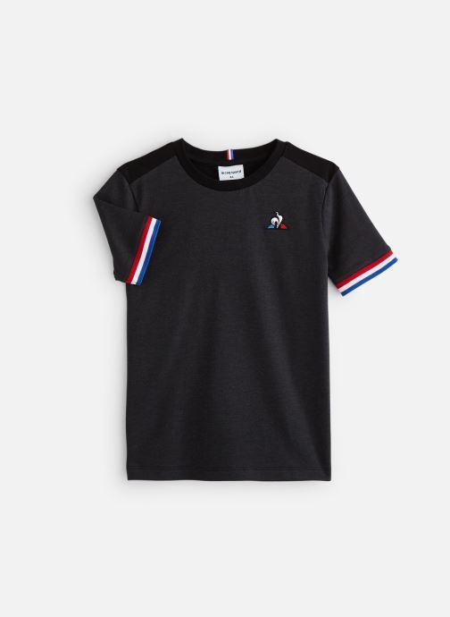 Vêtements Le Coq Sportif Tri Tee Ss N°2 JUNIOR 192 Noir vue détail/paire