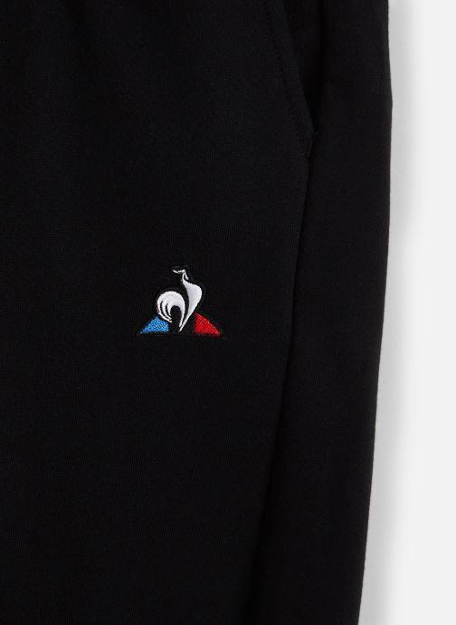 Vêtements Le Coq Sportif Ess Pant Regular N°1 JUNIOR 192 Noir vue portées chaussures