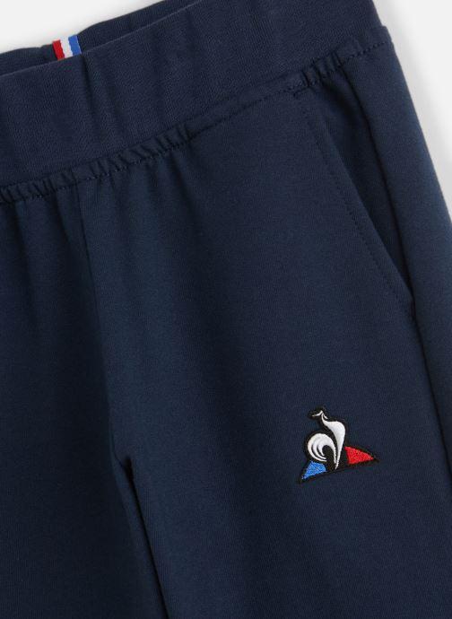 Vêtements Le Coq Sportif Ess Pant Regular N°1 JUNIOR 192 Bleu vue portées chaussures