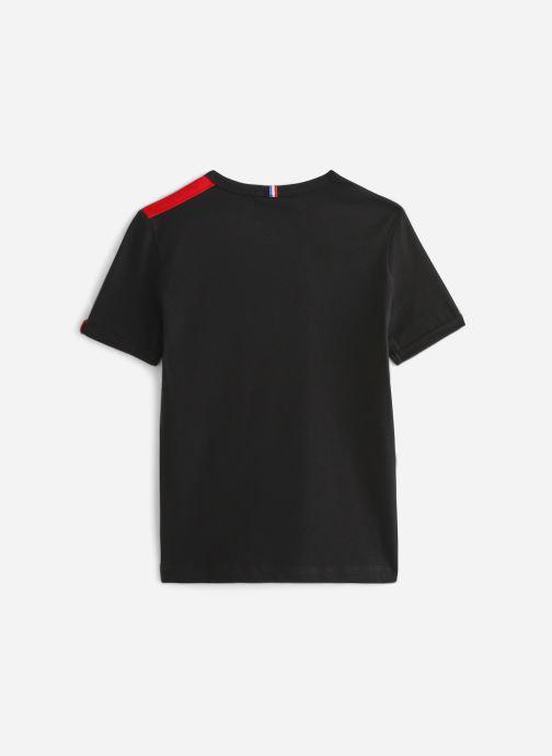 Vêtements Le Coq Sportif Tri Tee Ss N°4 JUNIOR 192 Noir vue bas / vue portée sac