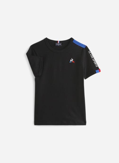 Vêtements Le Coq Sportif Tri Tee Ss N°4 JUNIOR 192 Noir vue détail/paire