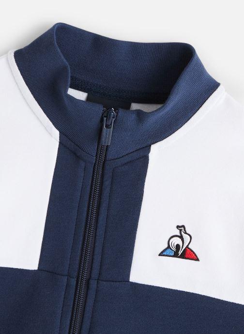 Vêtements Le Coq Sportif Tri Fz Sweat N°2 JUNIOR 192 Bleu vue portées chaussures