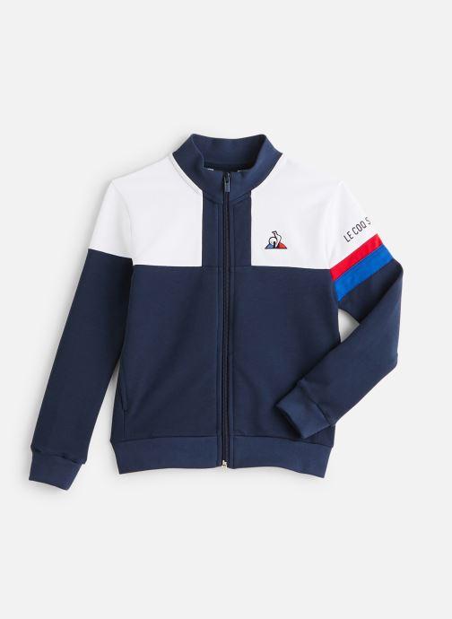 Vêtements Le Coq Sportif Tri Fz Sweat N°2 JUNIOR 192 Bleu vue détail/paire
