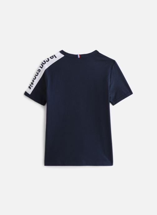 Vêtements Le Coq Sportif Bat Tee Ss N°1 JUNIOR 192 Bleu vue bas / vue portée sac