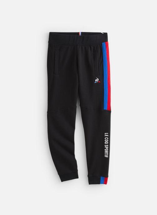 Vêtements Le Coq Sportif Tri Pant Slim N°2 JUNIOR 192 Noir vue détail/paire