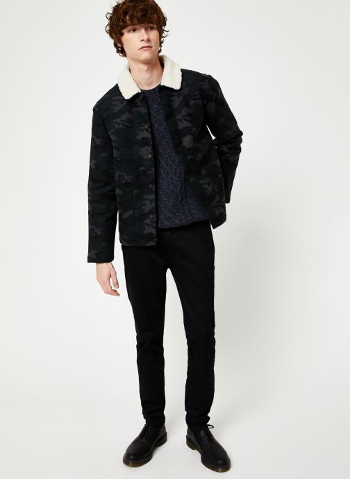 Vêtements Faguo LORGE JACKET WOOL Vert vue bas / vue portée sac