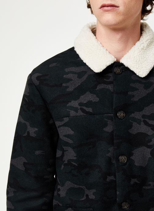 Vêtements Faguo LORGE JACKET WOOL Vert vue face