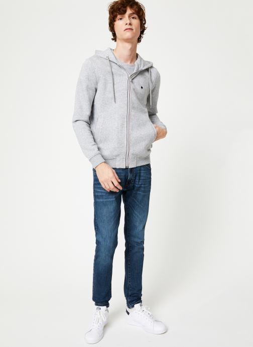 Vêtements Faguo MESNIL SWEAT COTTON Gris vue bas / vue portée sac
