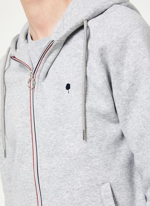 Vêtements Faguo MESNIL SWEAT COTTON Gris vue face