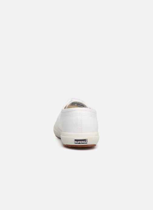Sneakers Superga 2750 J Cotu Classic C2 Wit rechts