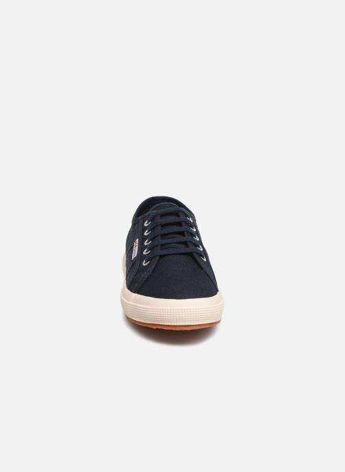 Sneaker Superga 2750 J Cotu Classic C2 blau schuhe getragen