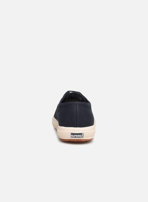 Sneaker Superga 2750 J Cotu Classic C2 blau ansicht von rechts