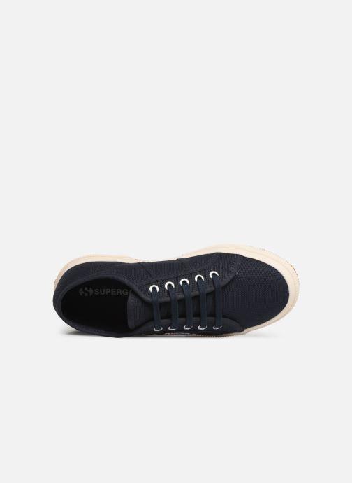 Sneaker Superga 2750 J Cotu Classic C2 blau ansicht von links