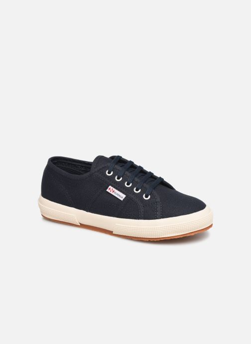 Trainers Superga 2750 J Cotu Classic C2 Blue detailed view/ Pair view