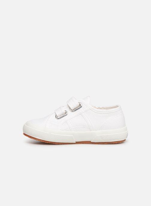 Sneaker Superga 2750 J Velcro E C2 weiß ansicht von vorne