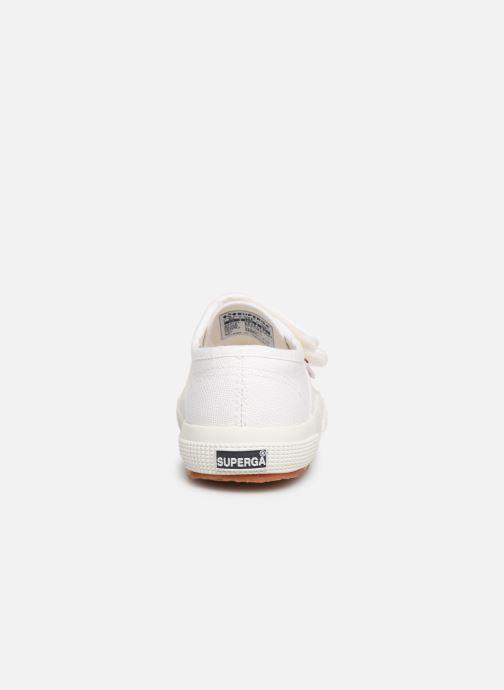 Sneakers Superga 2750 J Velcro E C2 Wit rechts