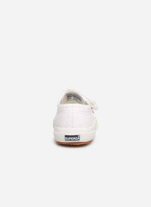 Trainers Superga 2750 J Velcro E C2 White view from the right