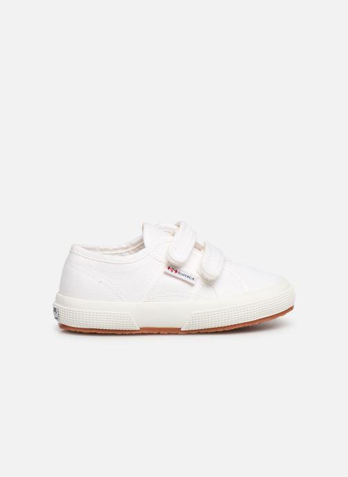 Sneaker Superga 2750 J Velcro E C2 weiß ansicht von hinten