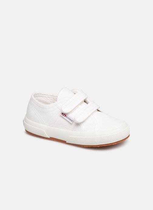 Sneakers Superga 2750 J Velcro E C2 Wit detail