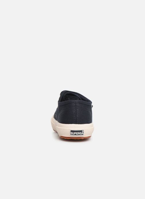 Trainers Superga 2750 J Velcro E C2 Blue view from the right